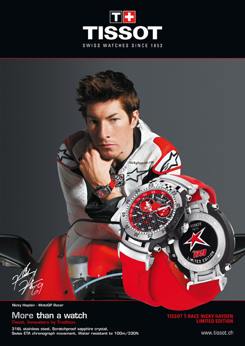 Tissot T-Race Nicky Hayden Limited Edition 2010